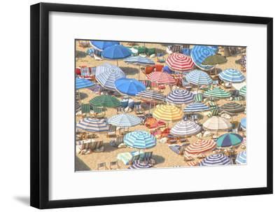 Umbrellas I--Framed Premium Giclee Print