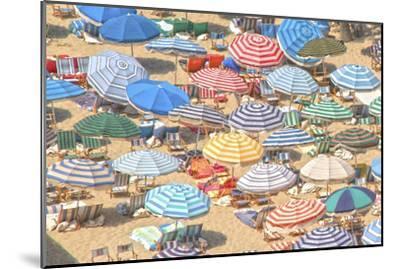 Umbrellas I--Mounted Premium Giclee Print