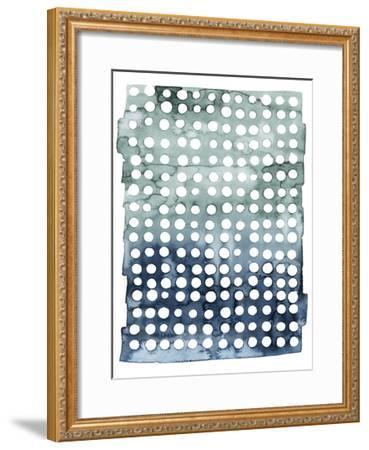 Morse Dots I--Framed Art Print