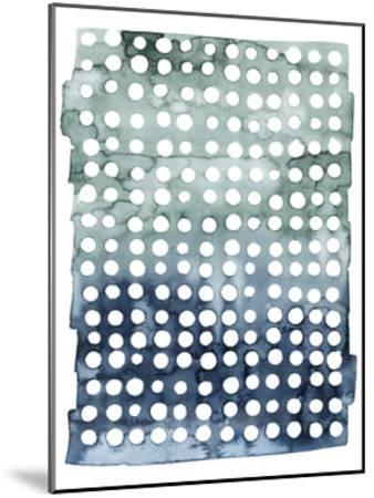 Morse Dots I--Mounted Art Print