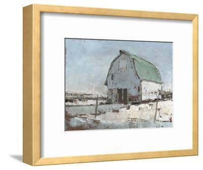 Plein Air Barn I--Framed Premium Giclee Print