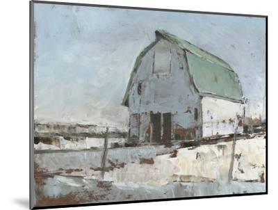Plein Air Barn I--Mounted Premium Giclee Print