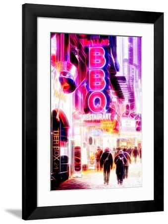 Manhattan Shine - BBQ-Philippe Hugonnard-Framed Photographic Print