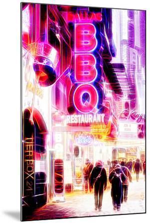 Manhattan Shine - BBQ-Philippe Hugonnard-Mounted Photographic Print