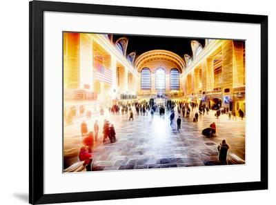 Manhattan Shine - Grand Central Terminal-Philippe Hugonnard-Framed Photographic Print
