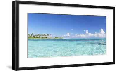 Dream Island at Olhuveli Beach and Spa Resort, South Male Atoll, Kaafu Atoll, Maldives (PR)-Ian Trower-Framed Photographic Print