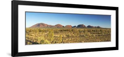 Kata Tjuta / The Olgas (UNESCO World Heritage Site), Uluru-Kata Tjuta National Park, Northern Terri-Ian Trower-Framed Photographic Print
