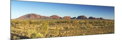 Kata Tjuta / The Olgas (UNESCO World Heritage Site), Uluru-Kata Tjuta National Park, Northern Terri-Ian Trower-Mounted Photographic Print