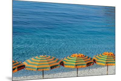 Europe, Italy, Liguria. Summer in Monterosso, Cinque Terre.-Catherina Unger-Mounted Photographic Print