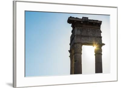 Europe, Italy, Rome. Temple of Apollo Sosiano-Catherina Unger-Framed Photographic Print