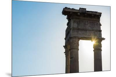 Europe, Italy, Rome. Temple of Apollo Sosiano-Catherina Unger-Mounted Photographic Print