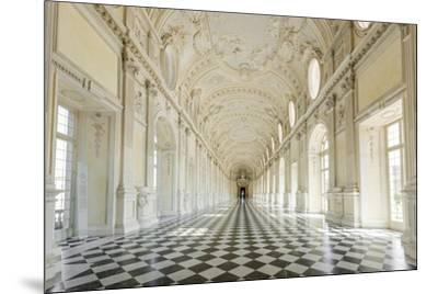 Europe, Italy, Piedmont. The Galleria Grande of the Venaria reale.-Catherina Unger-Mounted Photographic Print