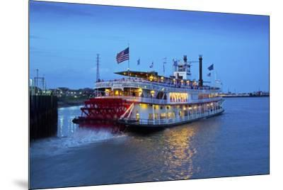 Louisiana, New Orleans, Natchez Steamboat, Mississippi River-John Coletti-Mounted Photographic Print