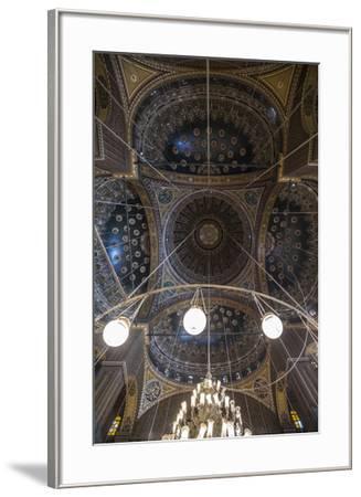Mosque of Muhammad Ali, Citadel, Cairo, Egypt-Jon Arnold-Framed Photographic Print