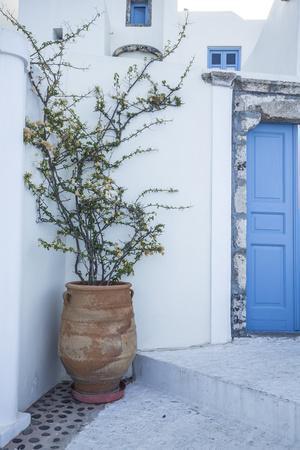 Santorini (Thira), Cyclades Islands, Greece-Jon Arnold-Framed Photographic Print