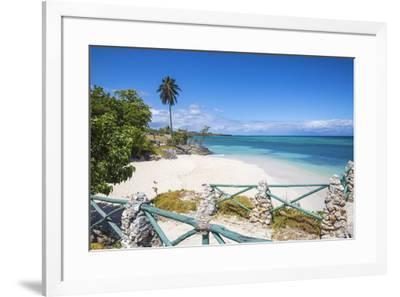 Cuba, Holguin Province, Playa Guardalvaca-Jane Sweeney-Framed Photographic Print