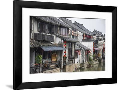 Xitang, Zhejiang Province, Nr Shanghai, China-Jon Arnold-Framed Photographic Print
