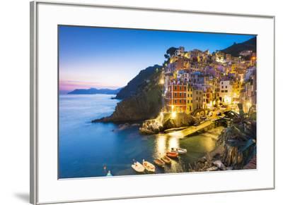 Manarola, Cinque Terre, Liguria, Italy-Jordan Banks-Framed Photographic Print