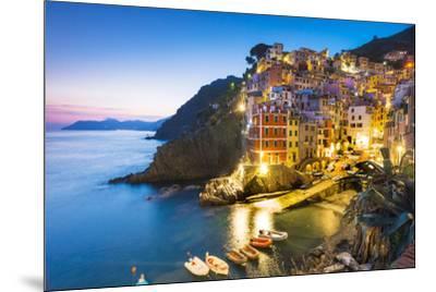Manarola, Cinque Terre, Liguria, Italy-Jordan Banks-Mounted Photographic Print