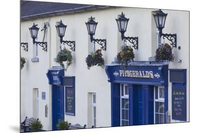 Ireland, County Wicklow, Avoca, Fitzgerald's Pub, played leading role in TV series, Ballykissangel-Walter Bibikw-Mounted Photographic Print