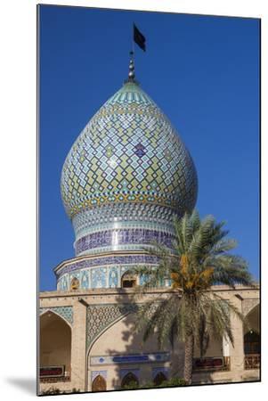 Iran, Central Iran, Shiraz, Imamzadeh-ye Ali Ebn-e Hamze, 19th century tomb of Emir Ali, dome-Walter Bibikw-Mounted Photographic Print