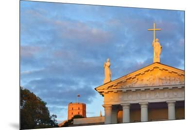 The Catholic Cathedral  and Gediminas's Tower of the Upper Castle. A Unesco World Heritage Site, Vi-Mauricio Abreu-Mounted Photographic Print