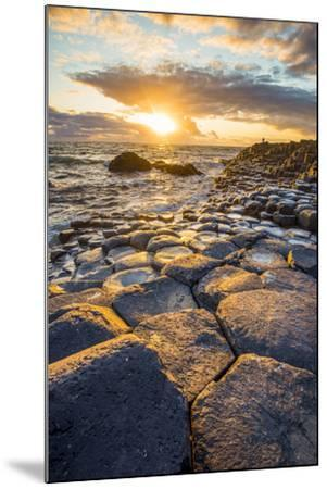 Giant's Causeway, County Antrim,  Ulster region, northern Ireland, United Kingdom. Iconic basalt co-Marco Bottigelli-Mounted Photographic Print