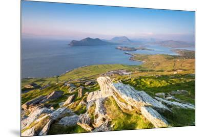 Valentia island (Oilean Dairbhre), County Kerry, Munster province, Ireland, Europe. View from the G-Marco Bottigelli-Mounted Photographic Print
