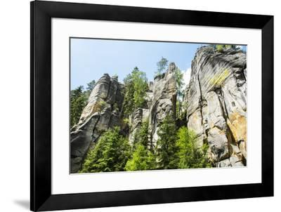 'Adersbach', Adršpach-Teplice Rocks, rock town-Klaus-Gerhard Dumrath-Framed Photographic Print