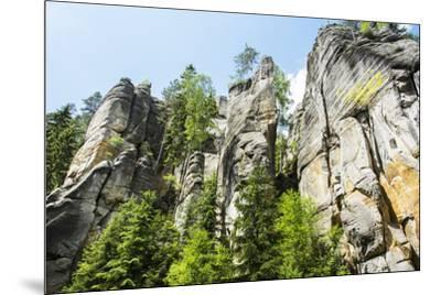 'Adersbach', Adršpach-Teplice Rocks, rock town-Klaus-Gerhard Dumrath-Mounted Photographic Print