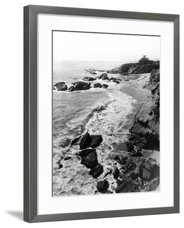 1918 Arch Beach Laguna, California--Framed Photographic Print