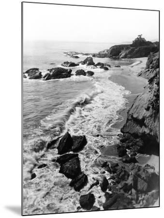 1918 Arch Beach Laguna, California--Mounted Photographic Print