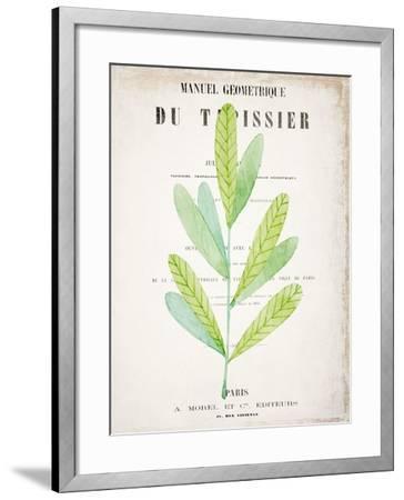 Botanical Pages 3-Kimberly Allen-Framed Art Print