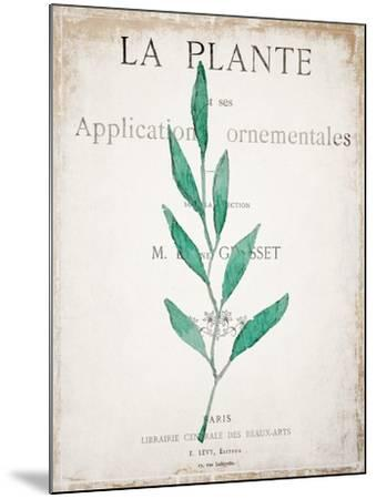 Botanical Pages 1-Kimberly Allen-Mounted Art Print
