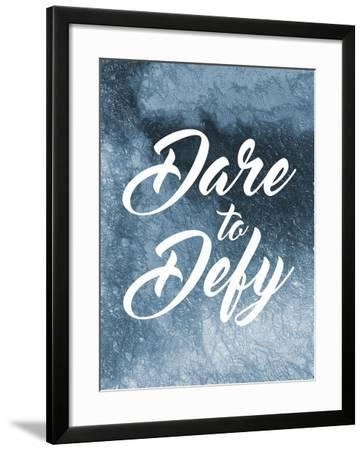 Dare To Defy-Marcus Prime-Framed Art Print