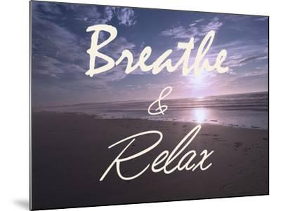 Breathe And Relax-Marcus Prime-Mounted Photographic Print