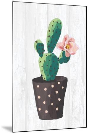 Cactus Panel 1-Kimberly Allen-Mounted Art Print