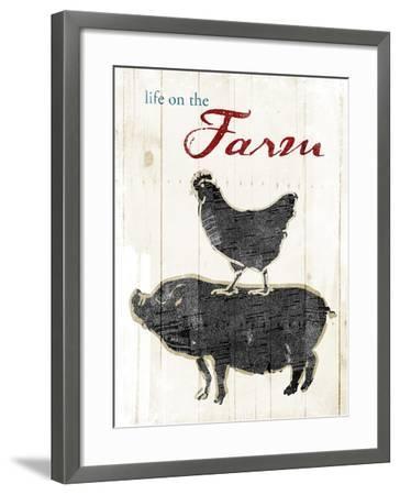 Life On The Farm-OnRei-Framed Art Print