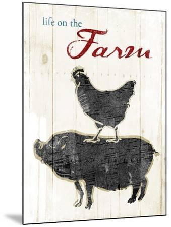 Life On The Farm-OnRei-Mounted Art Print