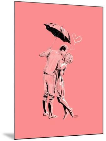 Romantic Love Pink-OnRei-Mounted Art Print