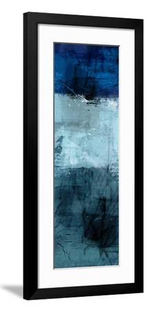 Flaring Indigos 1-Marcus Prime-Framed Art Print