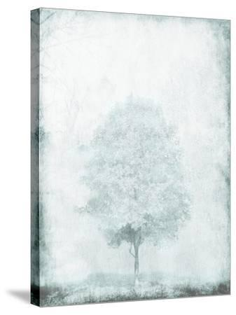 Snow Tree-OnRei-Stretched Canvas Print