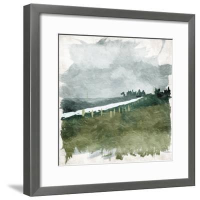 Calm Rain-OnRei-Framed Art Print