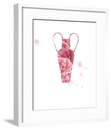 Floral Vase 3-Natasha Marie-Framed Art Print