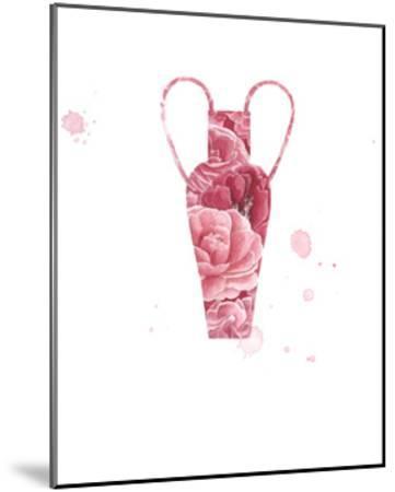 Floral Vase 3-Natasha Marie-Mounted Art Print