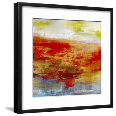 Measure of Vibration-Maeve Harris-Framed Art Print