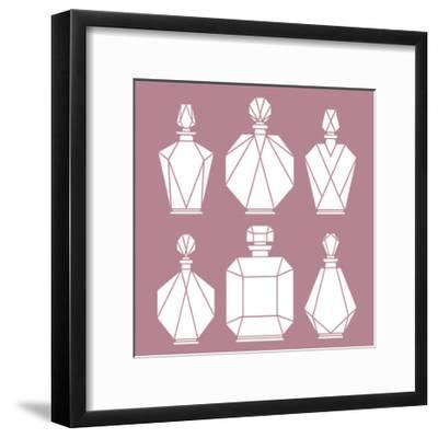Collection De Parfum-Olivia Blinco-Framed Art Print