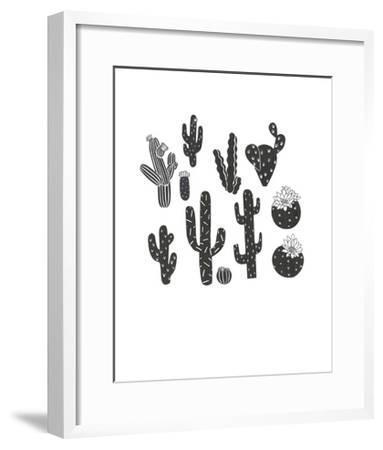 desert plants-Natasha Marie-Framed Art Print