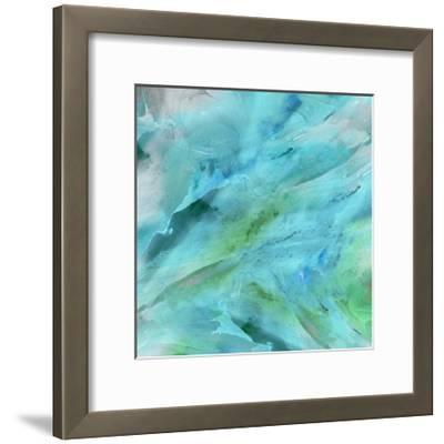 Blue Study-THE Studio-Framed Art Print