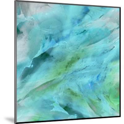 Blue Study-THE Studio-Mounted Art Print